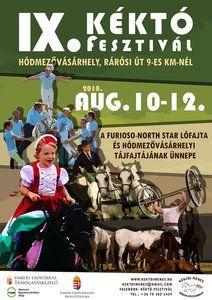 IX. Kéktó fesztivál plakát