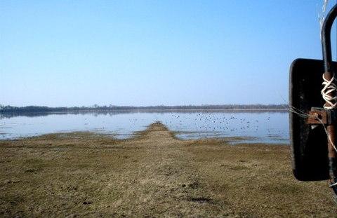 Kéktói puszta 2005. márciusában