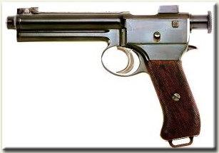 1907 M Roth 8mm, 10 db lőszert befogadó töltőléccel tölthető